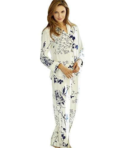 a3f1b2c93c Julianna Rae Natalya Women s 100% Silk Print Pajamas -   1.138 ...