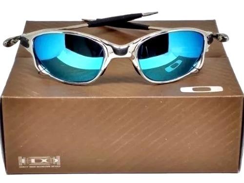 a88acbf7d Juliet Arco Iris Oakley Double X Gold Bad Man Penny Metal - R$ 129 ...