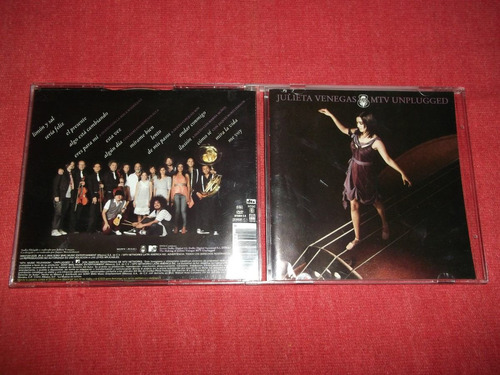 julieta venegas mtv unplugged cd + dvd cd nac ed 2008 mdisk