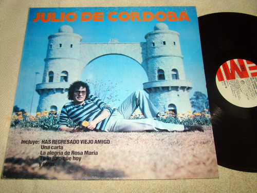 julio de cordoba has regresado amigo lp argentino promo