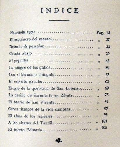 julio diaz usandivaras palo santo prosas nativas 1933