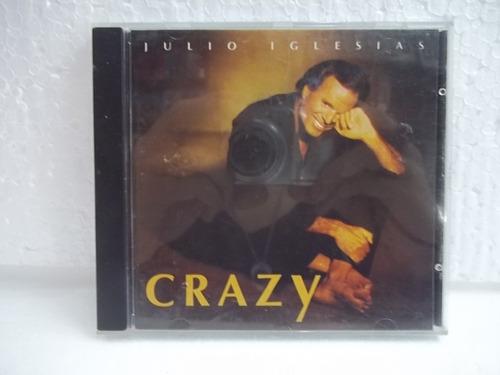julio iglesias crazy cd original  frete 12,00