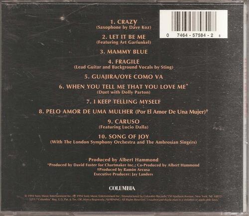 julio iglesias - crazy   -- cd original - un tesoro músical