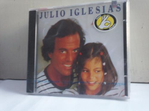 julio iglesias. de niña a mujer. cd.