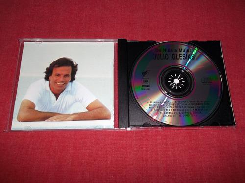 julio iglesias - de niña a mujer cd imp ed 1995 mdisk