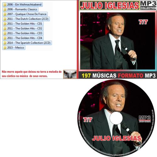 julio iglesias discografia completa 91 cd com 1.215 músicas
