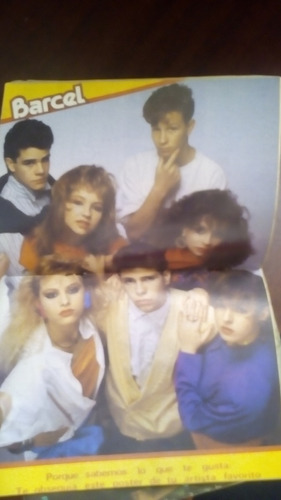 julio iglesias en portada de revista notitas musicales 1987