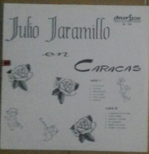 julio jaramillo en caracas (vinyl lp) nuevo sellado 1960