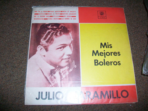 julio jaramillo, linda musica en long play, buen estado
