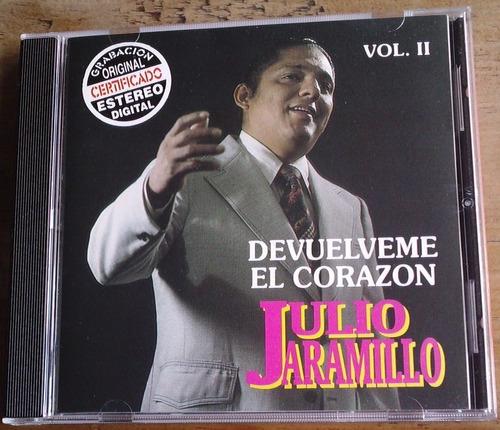 julio jaramillo vol 2  cd raro 1998 en exc cond orfeon op4