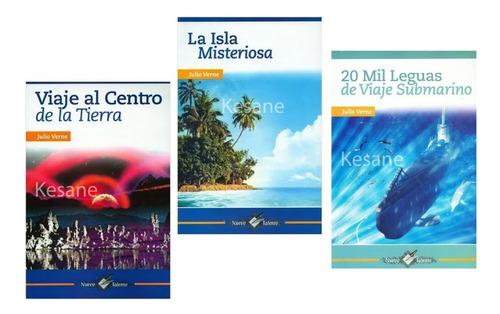 julio verne paquete 3 libros colección clásicos epoca paq. 1