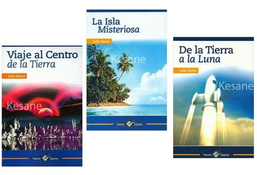 julio verne paquete 3 libros colección clásicos epoca paq. 3