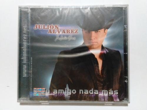 julión álvarez - tu amigo nada más cd nuevo