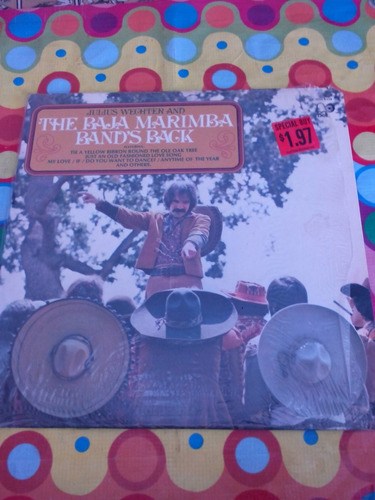 julius wechter & the baja marimba band's back. lp'73. u.s.a.
