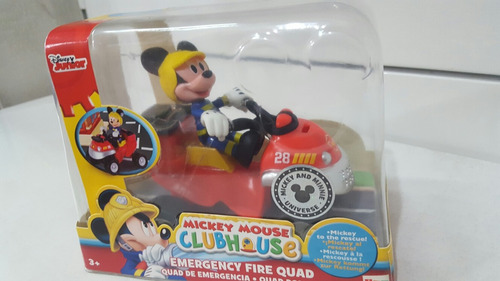 july toys - mickey mouse club house vehiculo emergencia