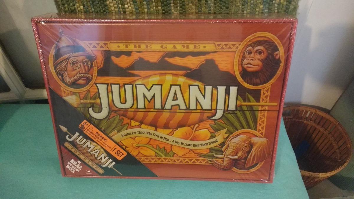 Jumanji The Game Wooden Box Edition
