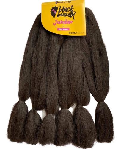 jumbão crespo black beauty 500 gramas  5 pacote por 175,00