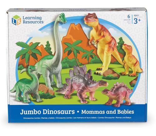 jumbo los dinosaurios: mommas y bebés