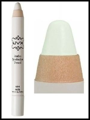 jumbo milk eye pencil lapis sombra nyx - envio imediato
