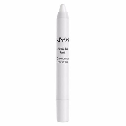 jumbo nyx sombra milk eye pencil - lápis de sombra - branco