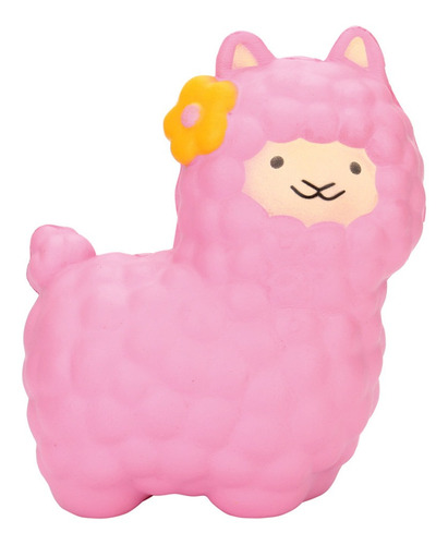 jumbo ovejas squishy lindo alpaca super lento aumento perfum