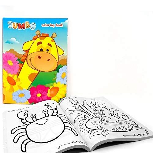 Jumbo Pack 2 Libros Para Colorear Genérico Niños Kit Colgen