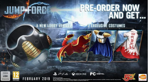 jump force collector's edition - xbox one