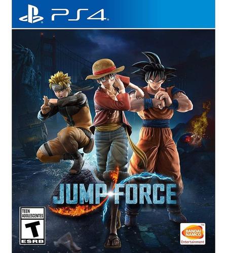jump force ps4 juego físico nuevo envío gratis surfnet store