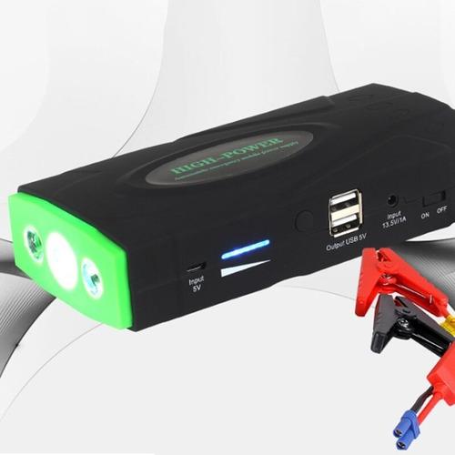 jump starter carregador portatil bateria moto carro 68800mah