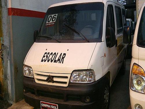 jumper 2.8 hdi minibus 8v 3p 2006 - aceito troca