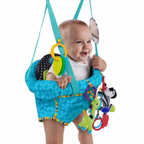 jumper bebe bright start con juguetes.bebesit