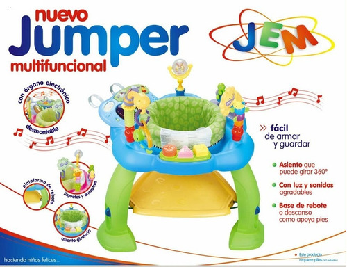 jumper juguetes para bebes