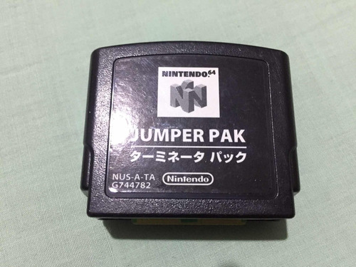 jumper pack para nintendo 64 funcional. oferta