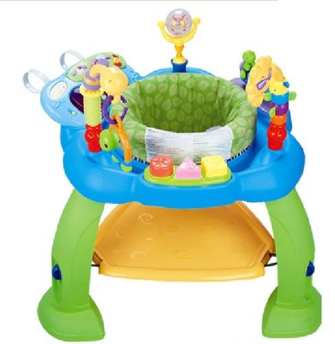 jumper rebotador con juguetes sonidos para bebes gira 360º