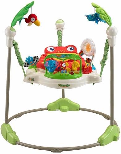 jumper rebotador movil juguete luz y sonido bebés gira 360º