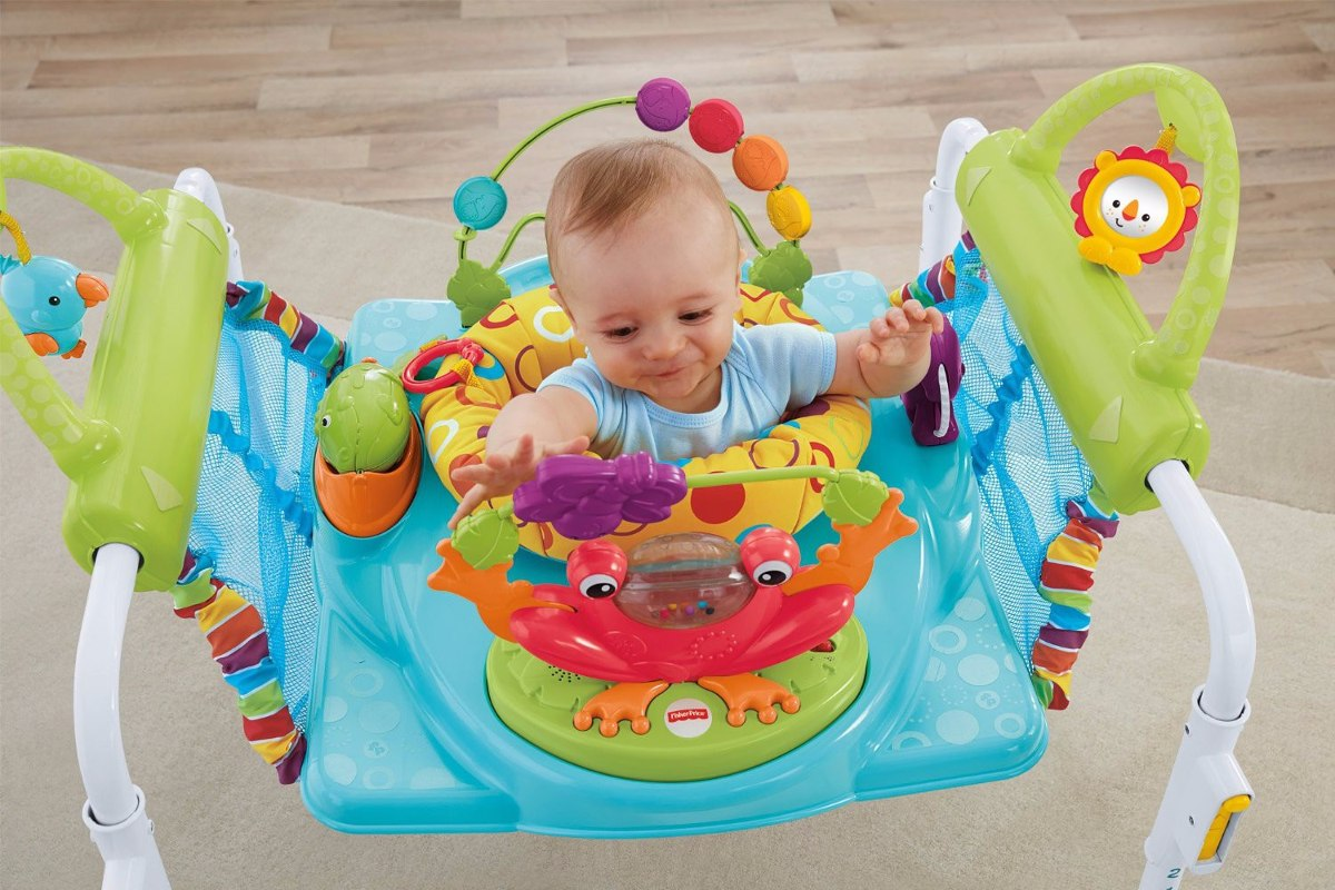 Jumpero brincolin brinca fisher price first steps 2in1 for Silla bebe 6 meses