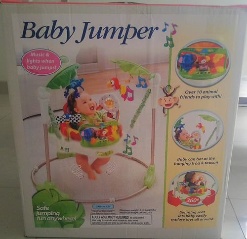 jumpero nuevo - silla saltarina bebe baby jumper nuevo