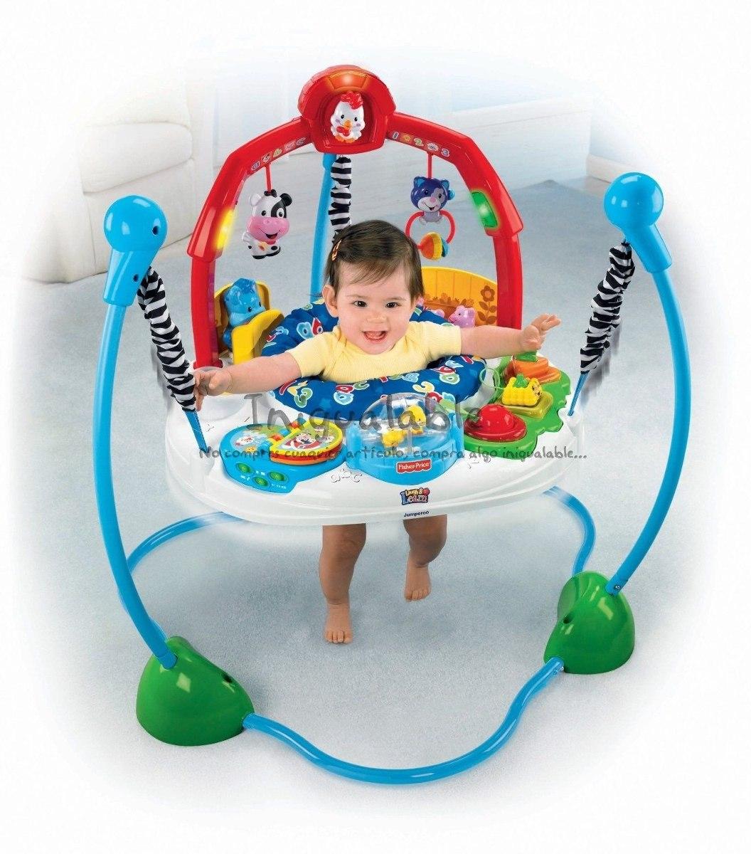Jumperoo fisher price para bebes aprende y estimula for Espejo retrovisor bebe fisher price