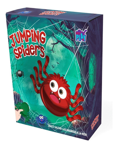 jumping spiders arañas saltarinas juego de mesa ik0005 full