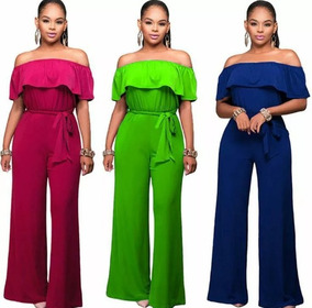 a8b4b038f4f3 Jumpsuit Enterizo Braga Tallas Plus Gorditas Xl