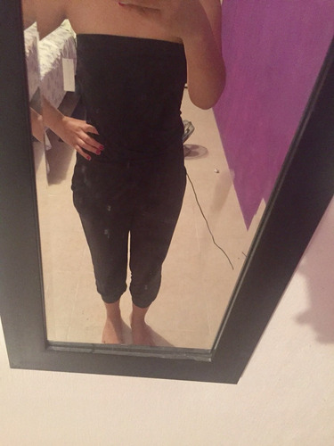 jumpsuit newyork straple negro