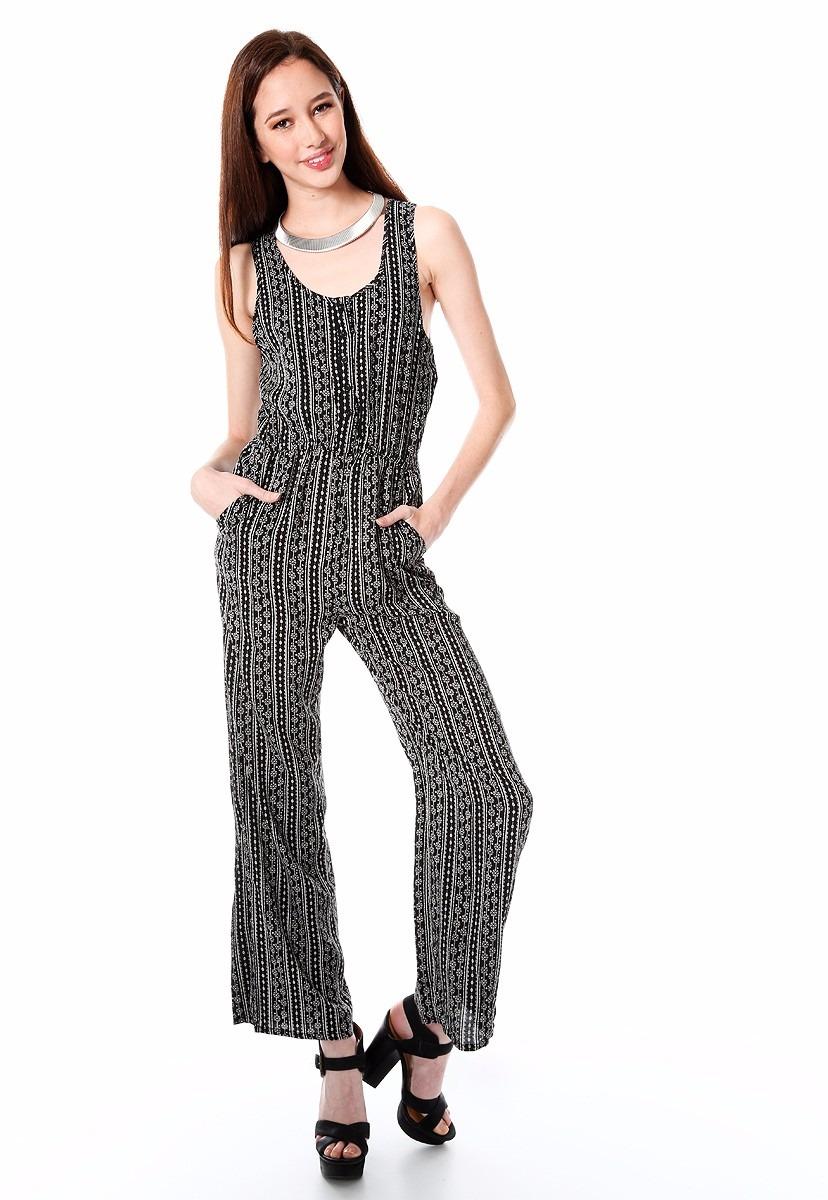 patrones de moda comprar más nuevo auténtico Jumpsuit Palazzo Largo Para Mujer Gde