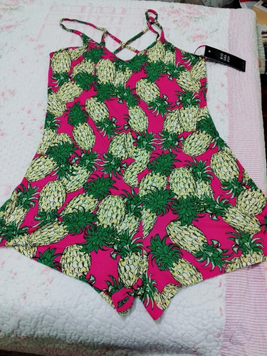 jumpsuit rosa  piñas biography talla g