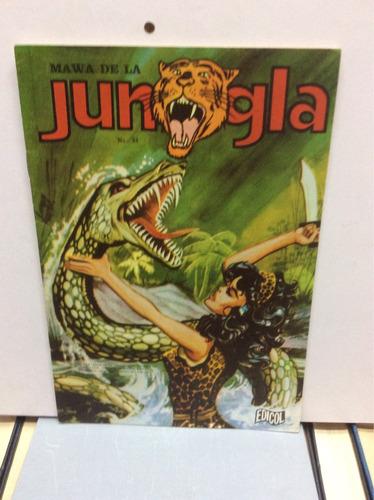 jungla-número 31-cómic de colección-aventura