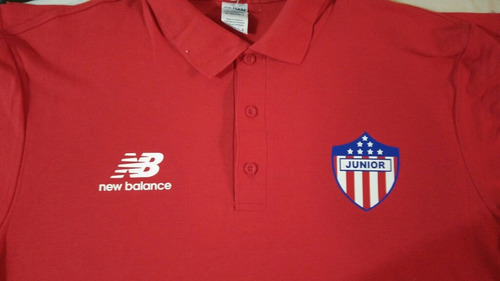 junior de barranquilla campeon camisetas tipo polo nova
