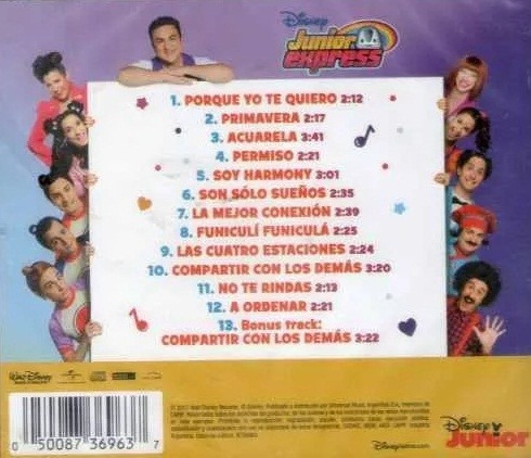 junior express - cd topa - porque yo te quiero- album 2017 -