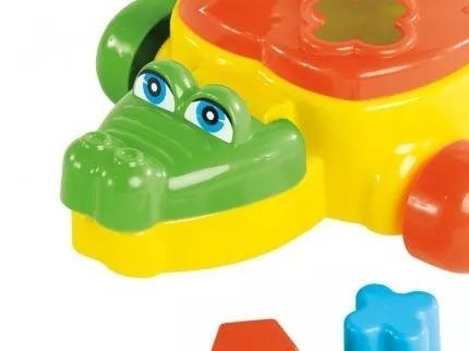 juniors cocodrilo de arrastre didáctico rivaplast
