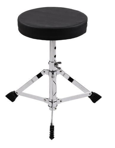 juniors drum throne tamborete de assento acolchoado redondo