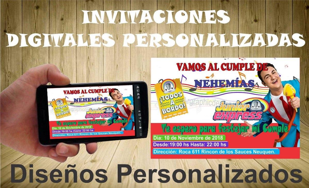 Juniors Express Invitaciones Tarjetas Digitales