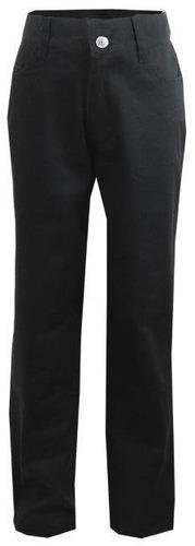 juniors ' negro moda tramo flaco pantalones - tamaño 3/4 ca